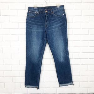 JCrew slim fit broken in boyfriend jeans sz 30